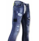 True Rise Jeans skinny fit broek