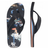 O'Neill Slipper o'neill men arch graphic black blue-schoenmaat 40
