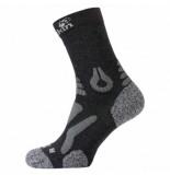 Jack Wolfskin Sokken hiking pro classic cut dark grey-schoenmaat 35 37