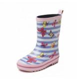 Gevavi Regenlaars kids vlinder roze-schoenmaat 22