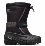 Sorel Youth flurry black bright-schoenmaat 32