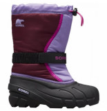 Sorel Youth flurry purple dahlia-schoenmaat 32