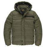 PME Legend Pja205106 6409 hooded jacket melange twill liftmaster green
