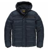 PME Legend Pja205106 5281 hooded jacket melange twill liftmaster blue