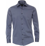 Venti Heren overhemd twill kent modern fit