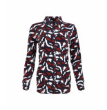 MAICAZZ Garbi blouse fa20.20.008 brick pimple