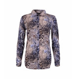 MAICAZZ Garbi blouse fa20.20.008 blue nature