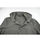 Profuomo Lightweight raincoat anthra