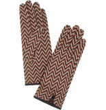 King Louie Glove indra henna red