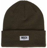 Moss Copenhagen Mojo beanie grape leaf