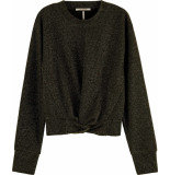 Scotch & Soda Cropped knotted long sleeve tee in combo m
