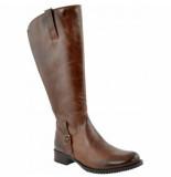 JJ Footwear Dameslaars sydney cognac kuitmaat m/l-schoenmaat 44