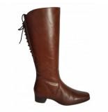 JJ Footwear Dameslaars cardiff cognac kuitmaat xl-schoenmaat 36
