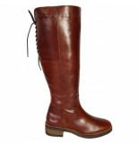 JJ Footwear Dameslaars burton cognac xl-schoenmaat 42