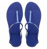 Havaianas Sandaal you riviera croco blue star-schoenmaat 35 36