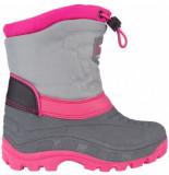 Winter-Grip Snowboot junior northern flicka antraciet roze-schoenmaat 25 26