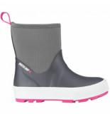 Winter-Grip Snowboot junior neo welly antraciet roze-schoenmaat 27