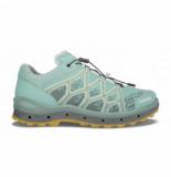 Lowa Trailrunning schoen dames aerox gtx lo iceblue mandarin-schoenmaat 38 (uk 5)