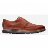 Cole Haan Men originalgrand wingtip oxford woodbury leather java-schoenmaat 41