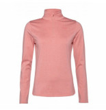 Protest Skipully women fabrizom 1/4 zip think pink-maat