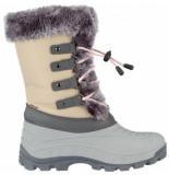 Winter-Grip Snowboot women northern glam grijs licht roze-schoenmaat 37 38