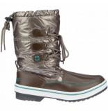 Winter-Grip Snowboot women glossed trotter ii donker taupe smaragd beige-schoenmaat 40
