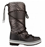 Winter-Grip Snowboot women classic trotter antraciet wit zwart-schoenmaat 40