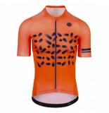 AGU Fietsshirt men spread fluo orange-l
