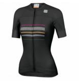 Sportful Fietsshirt women diva short sleeve jersey black-xs