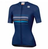 Sportful Fietsshirt women diva short sleeve jersey blue twilight-s