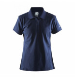 Craft Polo women classic pique navy-l