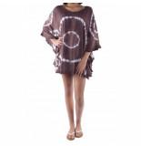 Pure-Kenya Strandjurkje pure kenya batik short dress -one-size