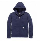 Carhartt Vest women clarksburg full zip hoodie navy-l