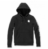 Carhartt Trui women clarksburg pullover sweatshirt black-l