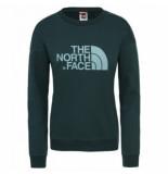 The North Face Trui women drew peak crew ponderosa green-l