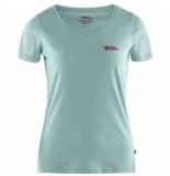 Fjällräven T-shirt fjällräven women logo clay blue-melange