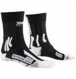 X-Socks Wandelsok women trek outdoor black white-schoenmaat 35 36