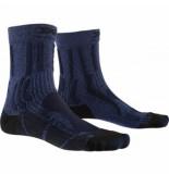 X-Socks Wandelsok women trek x ctn blue black-schoenmaat 35 36
