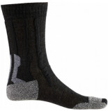 X-Socks Wandelsok women trek silver black grey-schoenmaat 35 36
