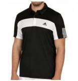 Adidas Tennispolo men response black-xs