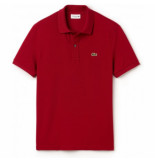 Lacoste Polo men ph401 slim fit bordeaux-