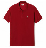 Lacoste Polo men l1212 classic fit bordeaux-