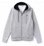 Lacoste Vest 1hs1 silver chine navy blue-