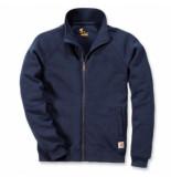 Carhartt Vest men midweight mock neck zip sweatshirt new navy-xl