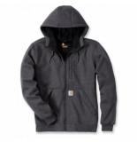 Carhartt Vest men wind fighter hooded sweatshirt carbon heather-s