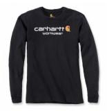 Carhartt T-shirt men maddock core logo t-shirt l/s black-m