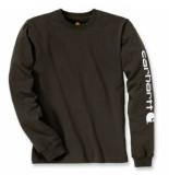 Carhartt Shirt men sleeve logo l/s peat-l