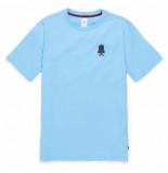 Herschel T-shirt supply co. men's tee sam classic logo alaskan blue-m