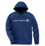 Carhartt Trui men force ext.logo hooded sweatshirt huron heather-m