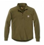 Carhartt Shirt men tilden l/s half zip fir green-xxl